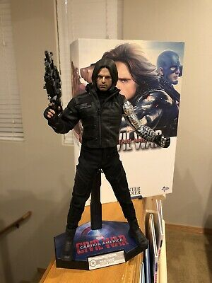 $ CDN262.85 • Buy Hot Toys MMS351 Captain America Civil War Bucky Winter Soldier 1/6 Sixth Scale