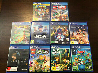 AU20 • Buy PlayStation 4 Games (PS4) - Good Condition