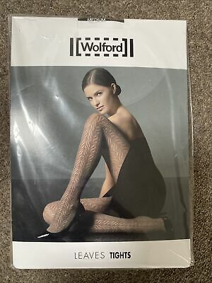 Wolford Leaves Tights Medium Mocca • 4.50£