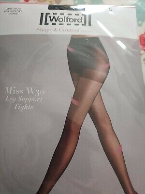 Wolford Miss W 30 Leg Support Tights • 5.20£