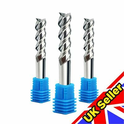 Solid Carbide 3 Flute End Mill Machining Tool • 6.20£
