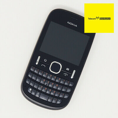 £18.36 • Buy Nokia Asha 201 - Black - QWERTY Phone - Working Condition - Vodafone - Fast P&P