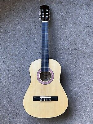 Lauren Childrens Guitar With Case And 2 Children's Learner Books • 20£