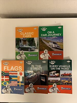 Michelin I-spy Books X5 Been Used • 4.99£