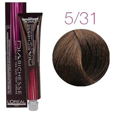 Shade 5/31 Dia Richesse Loreal Professional Semi Permanent Hair Colour  • 3£