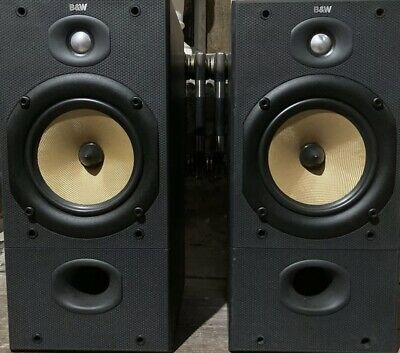 $ CDN442.87 • Buy B&W DM602 S2 Bowers And Wilkins Bookshelf Speakers Audiophile England UK
