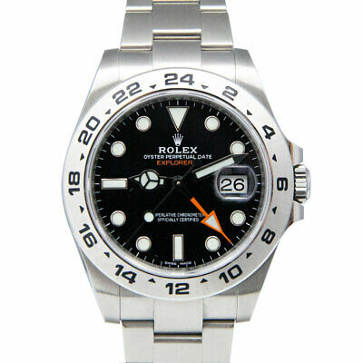 $ CDN15541.58 • Buy Rolex Explorer II 216570 Black Dial Stainless Steel 42mm Watch MINT With Card