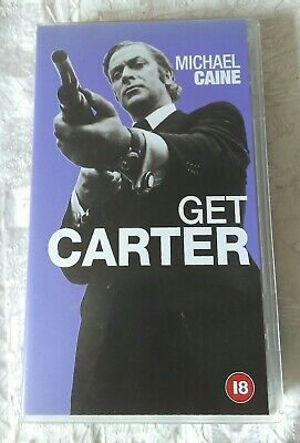Get Carter (1971) VHS Good Condition • 0.99£