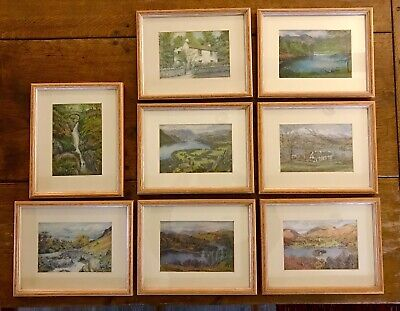 Lake District Professionally Framed & Mounted Prints (x8) • 16£