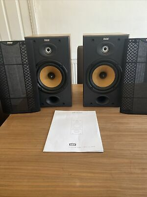 $ CDN336.56 • Buy B&W DM601 S2 Bowers And Wilkins Speakers Audiophile England Made Black