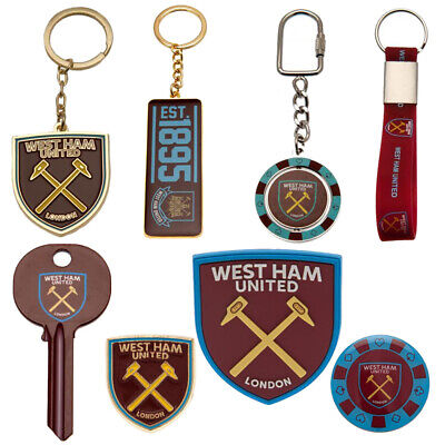 £6.82 • Buy West Ham United FC Badges Keyrings Magnets Official Merchandise-Great Gift Ideas