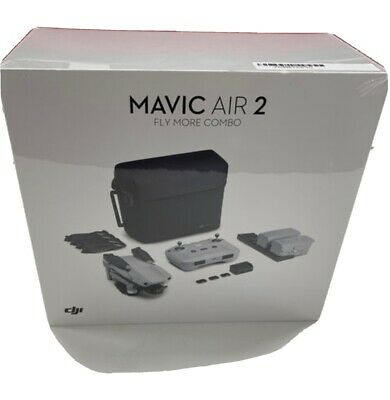 AU1566.74 • Buy Dji Mavic Air 2 Fly More Combo Drone Rc231 New And Sealed (rrp £949)