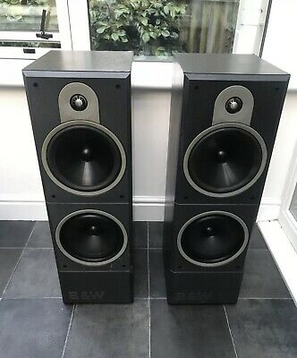 $ CDN504.87 • Buy B&W DM620 Bowers Wilkins 150W Floor Standing Speakers Audiophile England