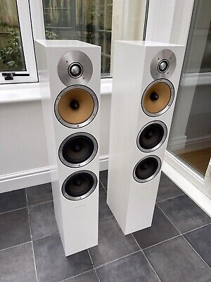 $ CDN1992.92 • Buy Boxed! B&W CM8 Bowers & Wilkins 150W Floor Speakers Audiophile Satin White