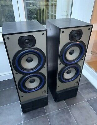 $ CDN531.36 • Buy B&W DM330 100W Bowers Wilkins Floor Standing Speakers Audiophile England Made