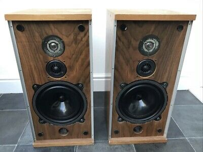 $ CDN504.87 • Buy B&W DM4 Bowers And Wilkins Floor Standing Speakers Audiophile England UK