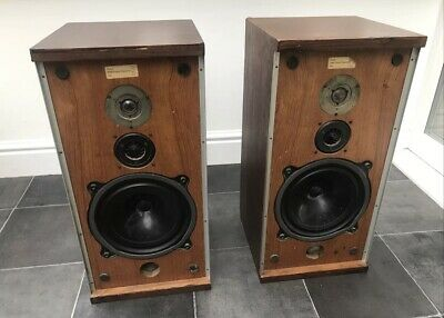 $ CDN504.87 • Buy B&W DM4 Bowers And Wilkins Floor Standing Speakers Audiophile England UK 1