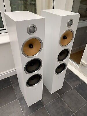 $ CDN2391.50 • Buy Boxed! B&W CM9 S2 White 200W Bowers Wilkins Floor Standing Speakers Audiophile