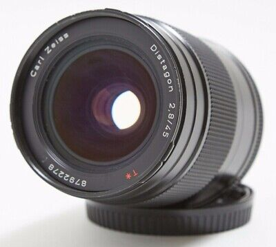 $ CDN375.71 • Buy Carl Zeiss Distagon 45mm F/2.8 T* Lens For Contax 645 W/lens Shade And Caps