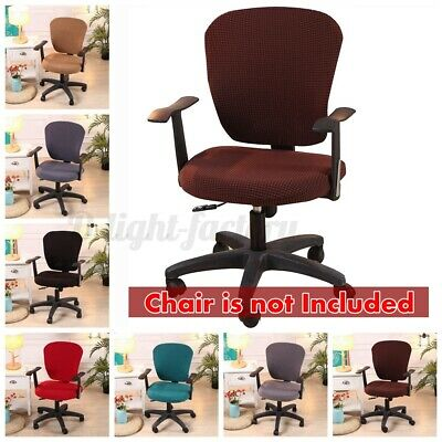 AU15.83 • Buy AUGIENB Swivel Computer Chair Cover Stretch Office Protector Stretchable   Z