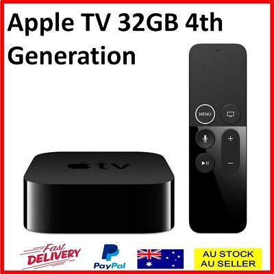 AU237.50 • Buy Apple TV 4th Generation 32GB HDMI Media Streamer Full High Definition Siri Remot