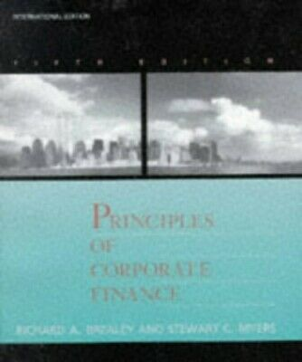 £3.49 • Buy Principles Of Corporate Finance (The McGraw-Hi... By Myers, Stewart C. Paperback
