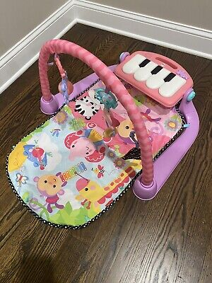 """£7.27 • Buy """"fisher Price"""" Kick And Play Musical Piano Gym Mat For Baby. Pink."""