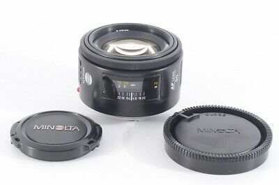 AU153.71 • Buy  Near Mint  Minolta AF 50mm F/1.4 Standard Lens For Sony A Mount From Japan 8A