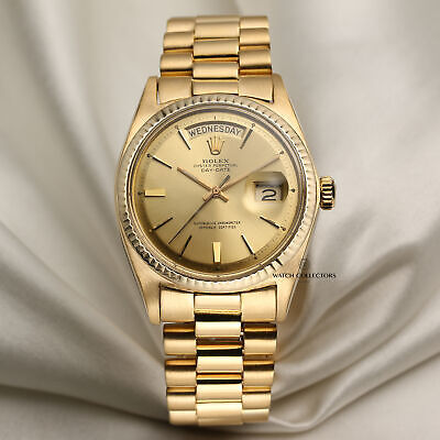 £10950 • Buy Rolex Day-Date 1803 18k Yellow Gold
