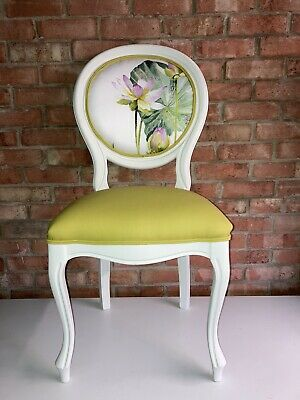 £195 • Buy Louis Style Chair Accent Chair Beautiful Spring Flower Designers Guild Fabric