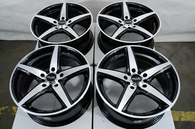 $549 • Buy 17  Wheels Fit Accord Civic Optima Elantra Jetta Corolla Camry Black Red Rims