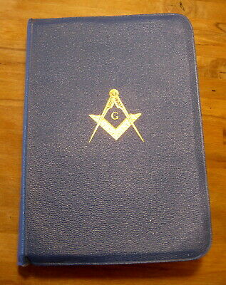 Vintage Holy Bible Masonic Edition Temple Illustrated King James Version 1957 • 17.73£