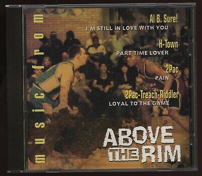 1994 Death Row Records Music ABOVE THE RIM Maxi Single CD! 2pac's Original PAIN! • 1,410.93£