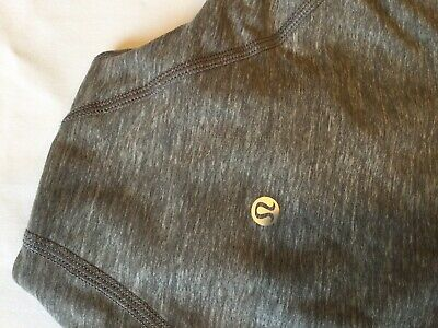 $ CDN18.71 • Buy Lululemon 3/4 Zip Pullover Top Shirt Size Unknown Gray See Measuring Tape Photos
