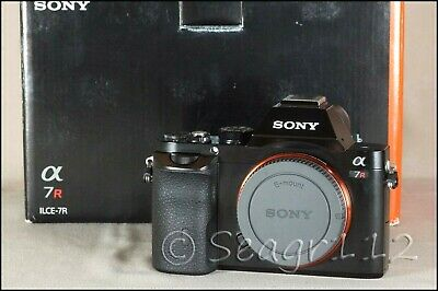$ CDN946.71 • Buy Sony Alpha A7R 36.4MP Full Frame Digital Camera (Body Only) LNIB/Mint Low Clicks