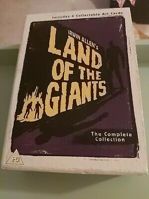 Land Of The Giants. The Complete Collection Including Unopened Post Card Set. • 18£