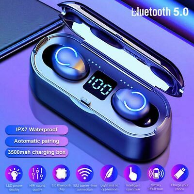 $ CDN17.14 • Buy  Wireless Headphones Bluetooth Earbuds Earphones Soft InEar Pods For IOS Android