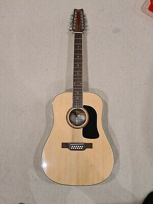 AU150 • Buy Washburn 12 String Acoustic Guitar D10S12 - Great Condition