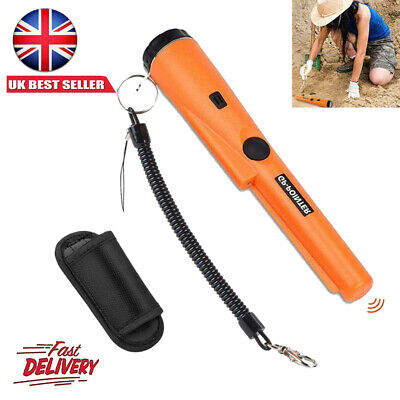 Handheld Pinpointer Pin Pointer Metal Gold Detector Automatic Tuning Waterproof • 14.99£