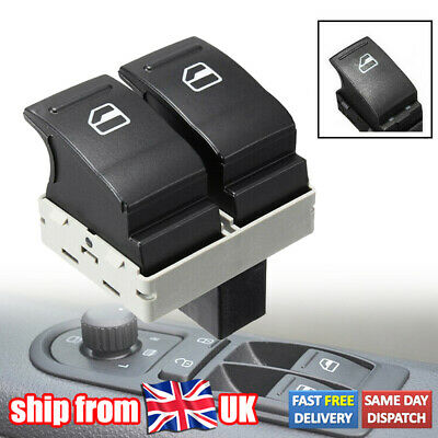 £7.99 • Buy Fit For VW Transporter T5 T6 Caravelle Electric Window Double Switch Driver Side