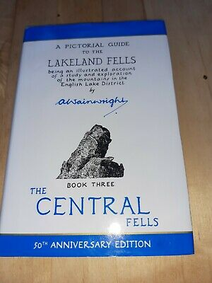 Guide Book To The Lakeland Fells Book 3 The Central Fells By A Wainwright  • 3.50£