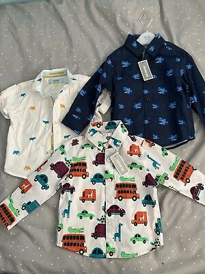 12-18 Month New Blue Zoo Shirts And Ted Baker • 3.40£