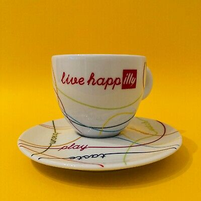 LIVE HAPPilly -  Illy Cappuccino Cup  • 9.99£