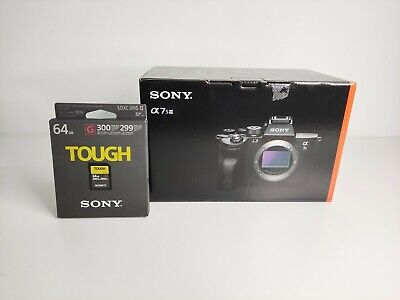 AU4864.45 • Buy Sony Alpha A7S III Mirrorless Digital Camera Body + TOUGH 64GB Memory Card