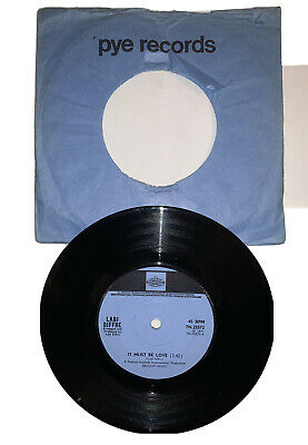 Labi Siffre - It Must Be Love. 1971 Vinyl Single On Pye Records 7N.25572. EX+ • 5£