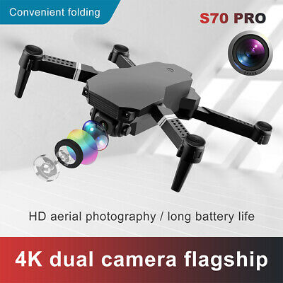AU50.85 • Buy RC Drone 1080P 4K HD Dual Camera WiFi FPV Selfie Drone Foldable Quadcopter AU