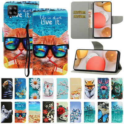 $ CDN8.27 • Buy For Samsung Galaxy A12 A32 A52 A72 A02S Pattern Leather Flip Wallet Case Cover