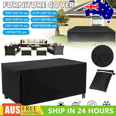 AU24.52 • Buy Outdoor Furniture Cover UV Waterproof Garden Patio Table Chair Shelter Protector