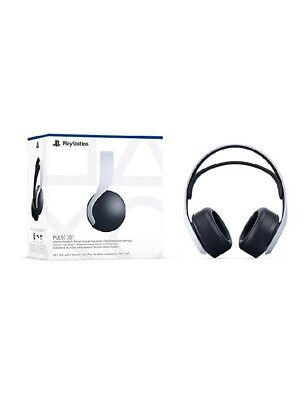 AU207 • Buy Sony Pulse 3D Wireless Gaming Headset For PS5 - White/Black