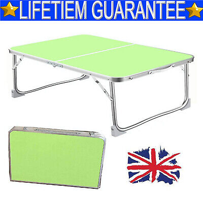 New Folding Laptop Bed Tray Table Portable Lap Desk Notebook Breakfast Cup Slot • 12.80£